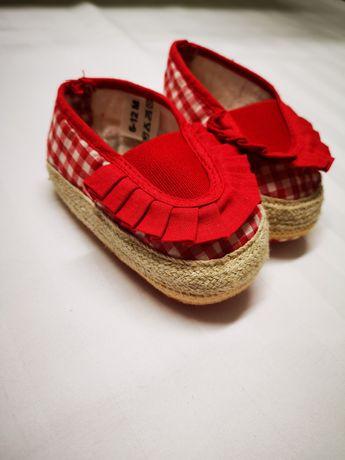 Взуття для дівчинки 6-12міс
