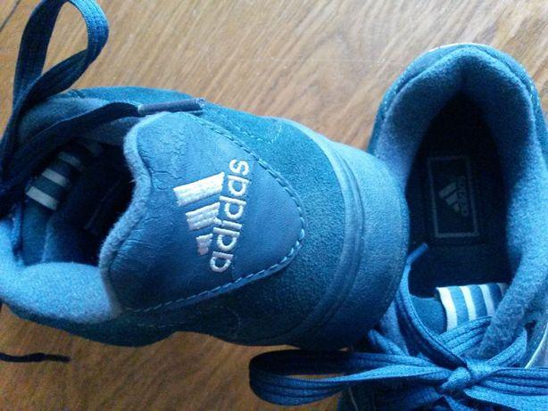 Buty Adidas niebieskie sznurowane 41