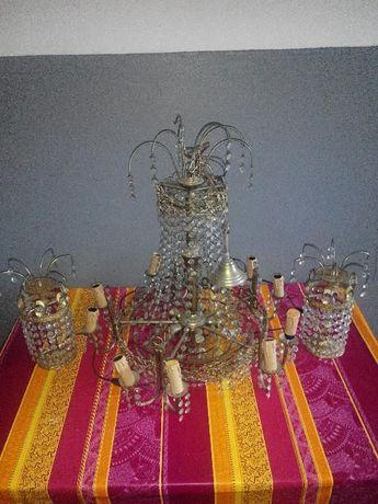 conjunto de candeeiro te teto e 2 candeeiros de mesinhas de cabeçeira