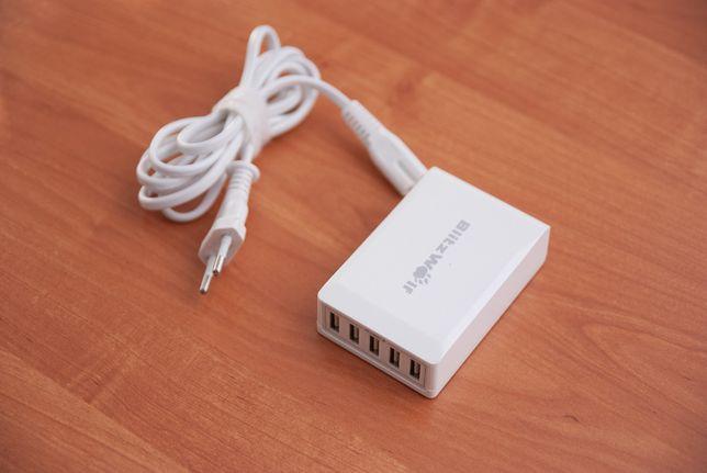Ładowarka do telefonu Blitzwolf 5 x USB (portów) do ładowania