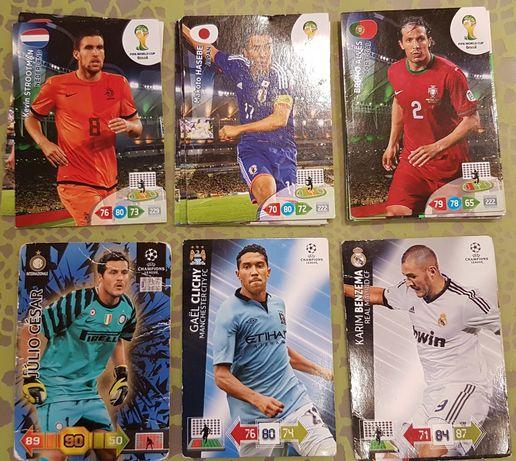 Karty piłkarskie Panini Adrenalyn XL i Bravo Sport