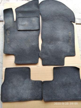 Коврики текстильные Лада калина в нормальном состоянии