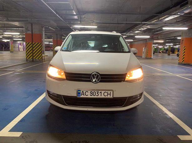 Автомобіщь volkswagen sharan 2012р.