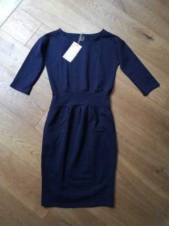 Sukienka wygodna i elegancka M - NOWA