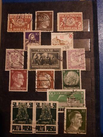Bardzo stare znaczki pocztowe