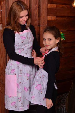 Набір фартушків мама-донечка