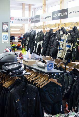 Kurtka motocyklowa, spodnie, buty, rękawice, kask - Nowe i Używane