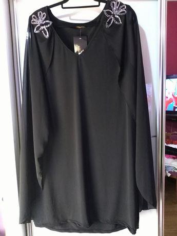 Sukienka z peleryna 48 54