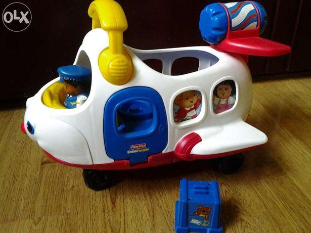 Детская развивающая игрушка Fisher Price Маленькие человечки. Самолет