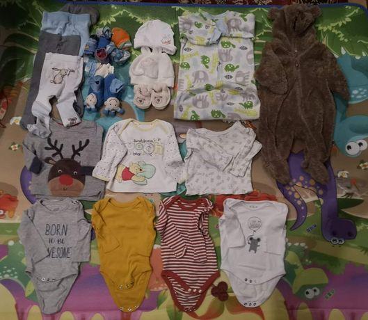 Ubranka dla niemowlaka chłopięce na ok. 3-9 miesięcy