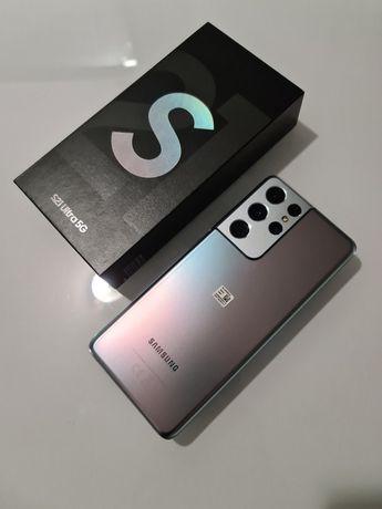 Samsung S21 ultra 5G Silver 12GB 256G