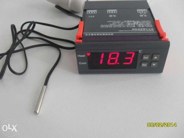 Termostato digital precisao (decimal 0,1)