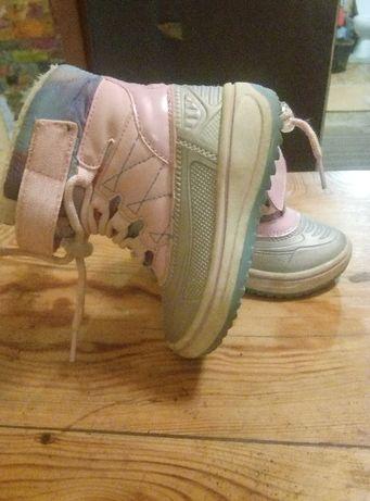 Термо ботиночки, не промокаемые. lupilu