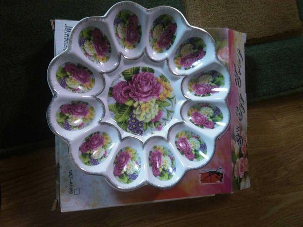 Підставка для яєць, тарілка для яєць