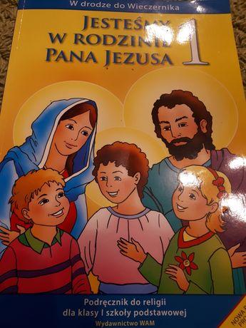 Podręcznik do religii.Jesteśmy w rodzinie Pana Jezusa kl.1