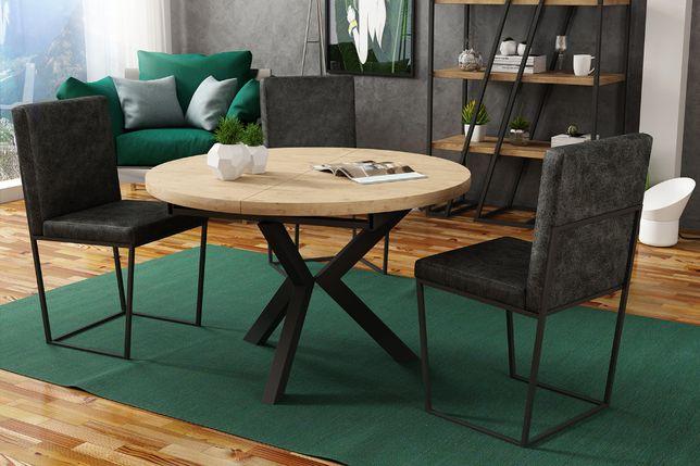 Stół okrągły(rozkladany) loft darmowa dostawa