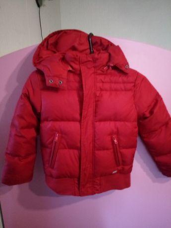 Куртка зимняя пух 4-6лет курточка
