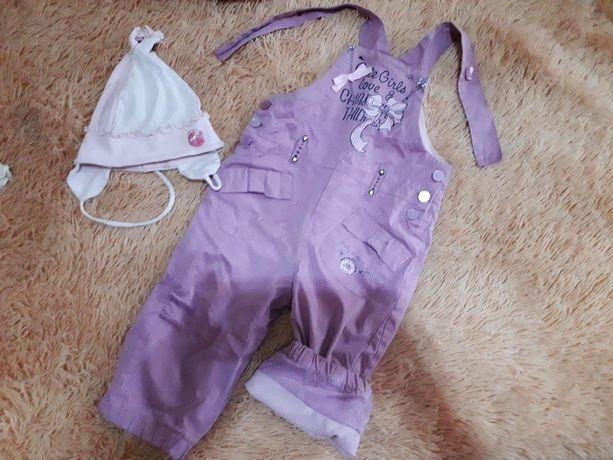 Утепленые непромокающие штанишки