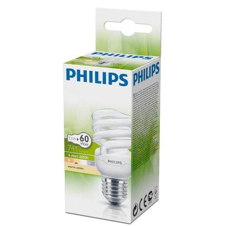 PHILIPS лампы энергосберегающие (экономки) E14, E27 (2700K)
