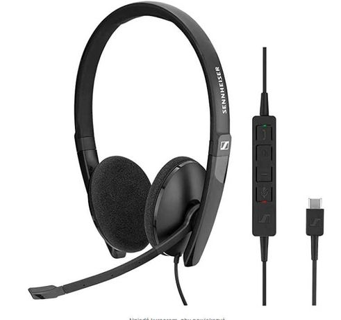 Sennheiser SC 160 zestaw słuchawkowy USB-C Duo