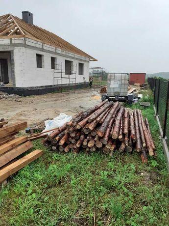 Stemple budowlane ponad 350 sztuk