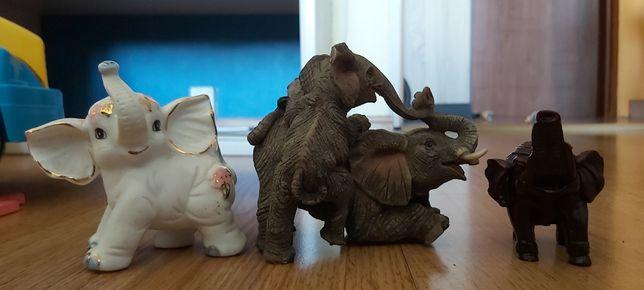 Trzy słoniki idealne do pokoju dziecka