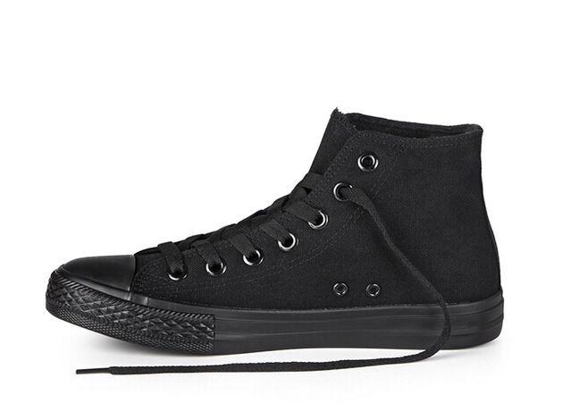 trampki czarne dlugie buty za kostke 39 25cm