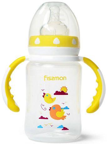 """Бутылочка детская для кормления Fissman Babies """"Птички в облаках"""" 240м"""