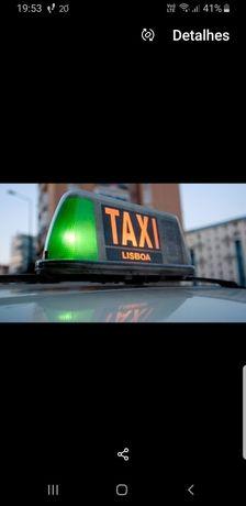 Vendo firma taxi sem carro
