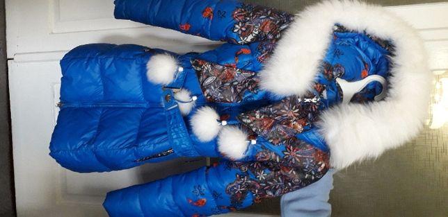 Зимнее пальто на девочку-подростка