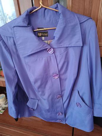 Куртка ветровка сиреневая