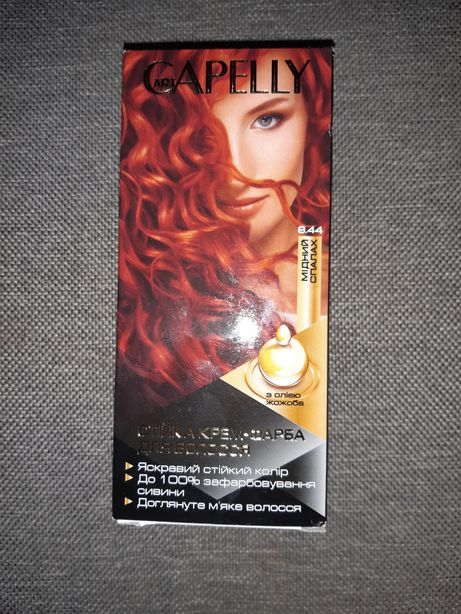 Крем краска для волос Capelly