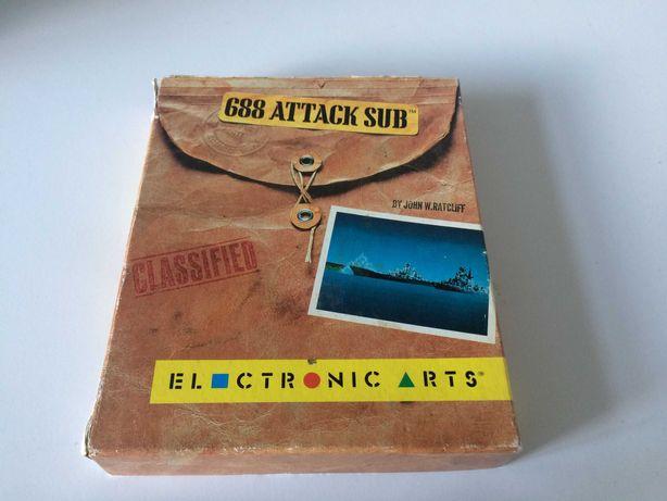 688 Atack Sub Amiga Box