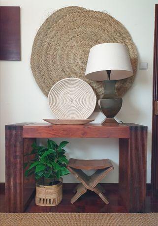aparador, consola, indiano, decoração, rustico