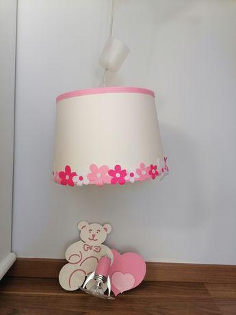 Lampa z kinkietem misia