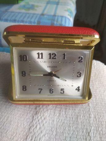 Deluxe, antigo relógio despertador de viagem - Coleção