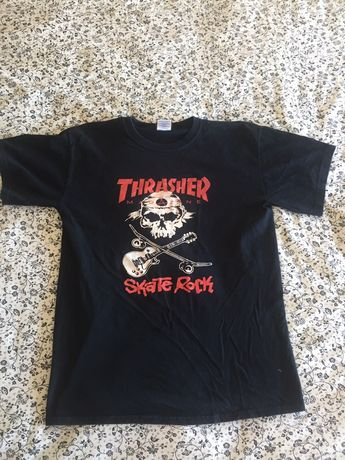 Lote 8 t shirts globe/thrasher e Fox