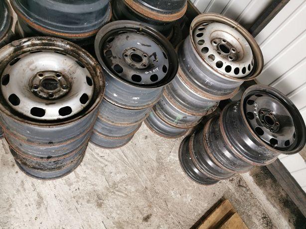 Диски стальні Golf 4 fabia Tur R14 Р14 5x100