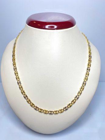 przepiękny złoty łańcuszek gucci p585 14k10,20g