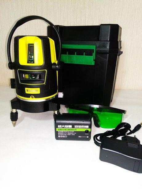5 лучей LD 50 м сенсор зелёный луч лазерный уровень