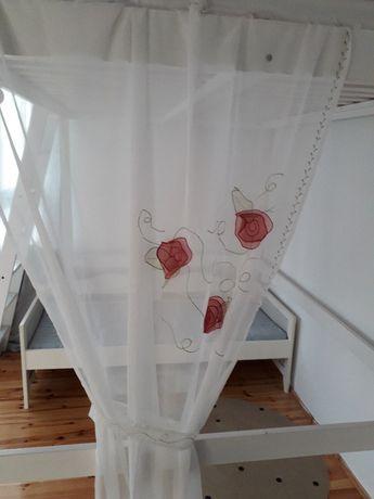 Zasłonki/ firanki do pokoju dziecięcego IKEA różyczki śliczne