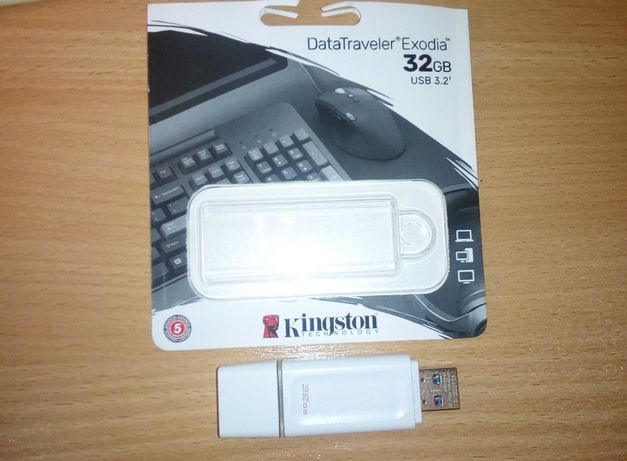 Флешка Kingston DataTraveler Exodia 32GB USB 3.2 Gen 1