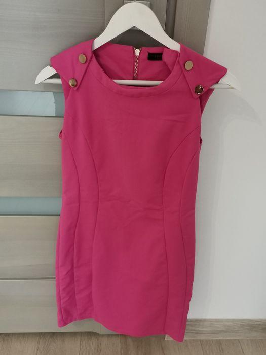 Różowa sukienka jak nowa!!! Wierzbica-Osiedle - image 1