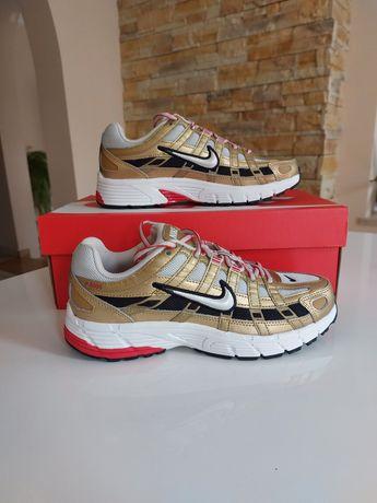Buty Nike P-6000 Gold, złote r. 36.5