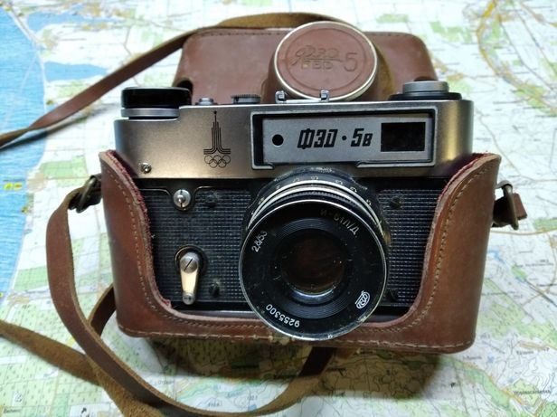Радянський фотоапарат