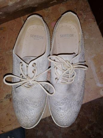Sapato prateado SEASIDE