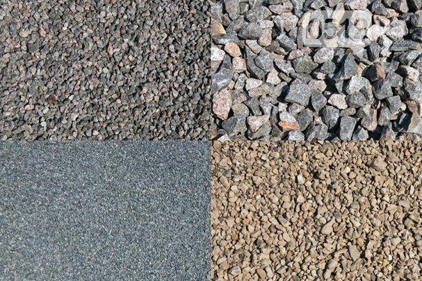 Чернозем, песок, щебень, отсевы, шлак, граншлак