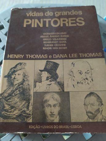 Vidas dos grandes pintores - Henry Thomas e Dana Lee Thomas (portes in