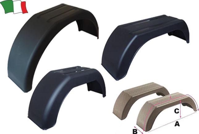Para-Lamas em Plástico para reboques, Roda 13″