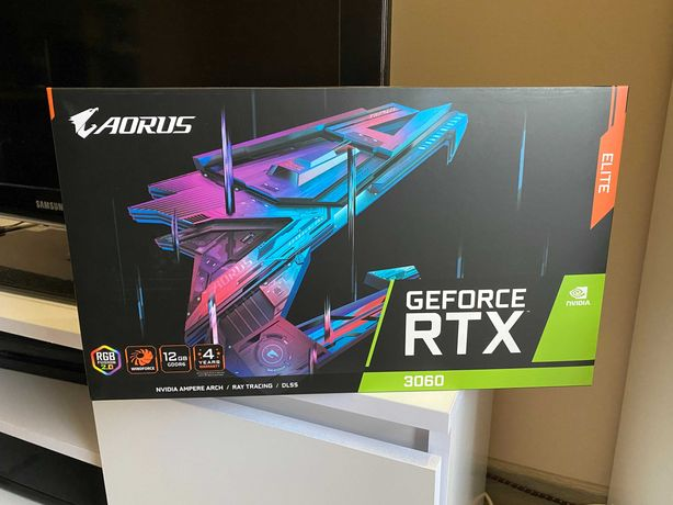 OD RĘKI 2x Karta Graficzna RTX 3060 12GB Gigabyte Aorus Elite GW36MIES